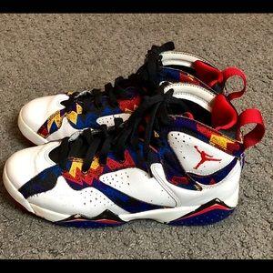 Jordan VII Retro 7 Nothing But Net Sweater Sneaker